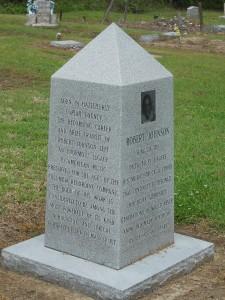 Robert Johnson's first grave