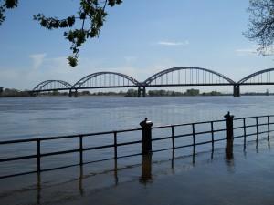 Mississippi in flood
